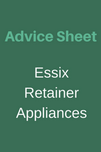 Essix Retainer Appliances