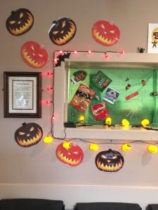Halloween display 4